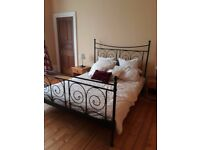 King size Metal Bed