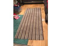 Striped carpet. Not been used,
