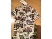 Boys shirt aged 2/3 years. M &S brand new with labels