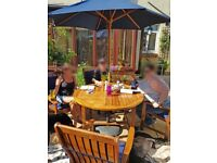 Full Solid Timber Garden Dining Set