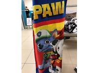 PAW PATROL SINGLE BED THROW
