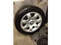 4x 16 inch Bmw alloys and tyres