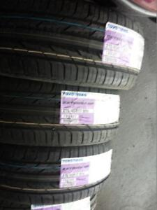 BRAND NEW WITH LABELS ULTRA HIGH PERFORMANCE TOYO EXTENSA ' V ' RATED 215 / 45 / 17 ALL SEASON TIRE SET OF FOUR.