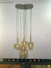 Dwell multi shade pendant light, brand new