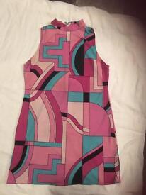 Fancy dress 70s dress size 12