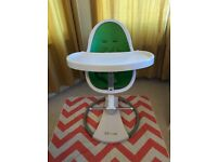Lime Green Bloom Fresco High Chair