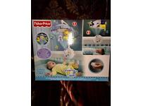 Fisher price projection cot mobile
