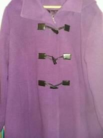 Ladies winter coat size 22