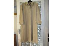 Woman's Burberry raincoat