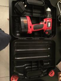 Black and Decker wireless Drilling machine and some bits