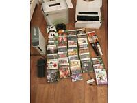 Xbox 360 with Kinect and 35 games