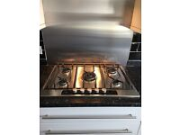 AEG ELECTROLUX 5 RING HOB WITH WOK RING AND MATCHING COOKER HOOD