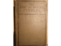 The Epic of Mount Everest by Sir Francis Younghusband
