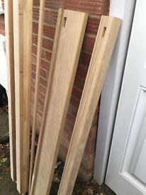 oak external door frame 1200mm building materials camberley oak 2 door