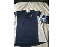Spurs football t-shirt 12-13yrs & spurs mini football brand new