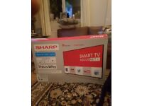 Sharp 40inch smart tv