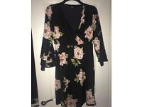 ASOS maternity floral wrap dress 12