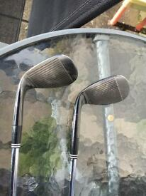 Two golf clubs for sale