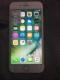 IPhone 6 64gb white gold Vodafone