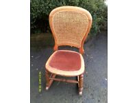 Vintage child's/small adults rocking chair