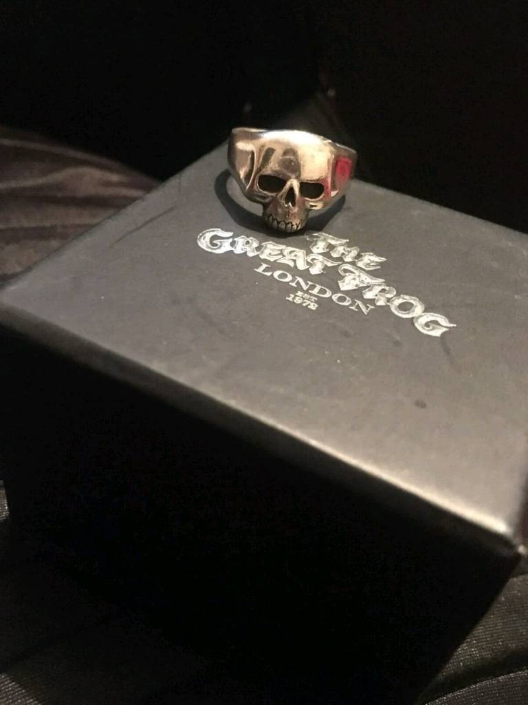 1f479a4aee2d2 The great frog london skull ring | in Harwich, Essex | Gumtree