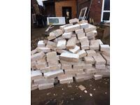 Breeze block bricks free to collect