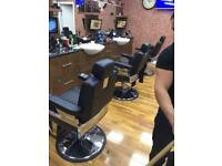 Brand new Barber chairs salon chairs traditional gents barbers chair