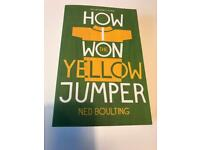 Ned Boulting, How I won the yellow jumper book