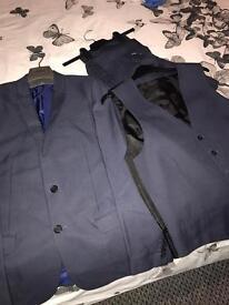 Men's River Island 3 Piece Suit