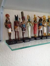 Model Figures of Egyptian Gods & Goddesses