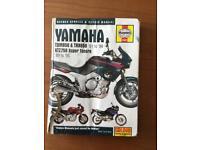 Haynes Manual, Yamaha motorbike