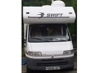 late 1998 swift sundance motorhome 1.9td