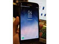 Samsun Galaxy S7 Edge Black Dual Sim SM-935FD Sim Unlocked with Spigen Bumper Cover