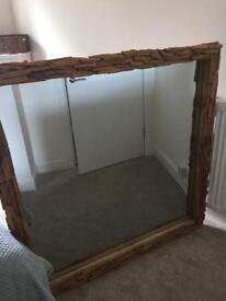 Large mirror SOLD !!