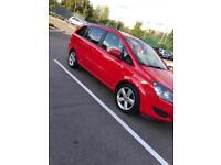 Vauxhall Zafira 7 seater family car