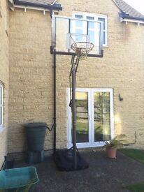 Full Size Adjustable Basketball Hoop For Sale