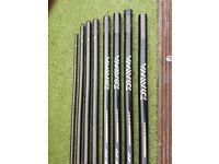 Daiwa whisker 15 meter pole