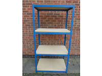 4 Shelf Racking Boltless 180cm x 90cm x 60cm