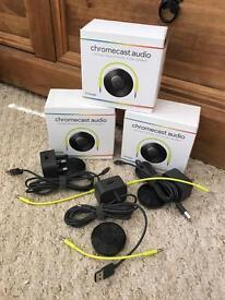 Chromecast Audio Set of 3