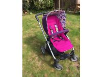 Gorgeous mamas and papas pram/travel system, excellent condition
