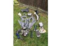 Derbi Senda 50cc 2004 Breaking, Parts, Engine, Exhaust, Wiring, Fuel Tank, Oil Tank, 70cc kit ETC.