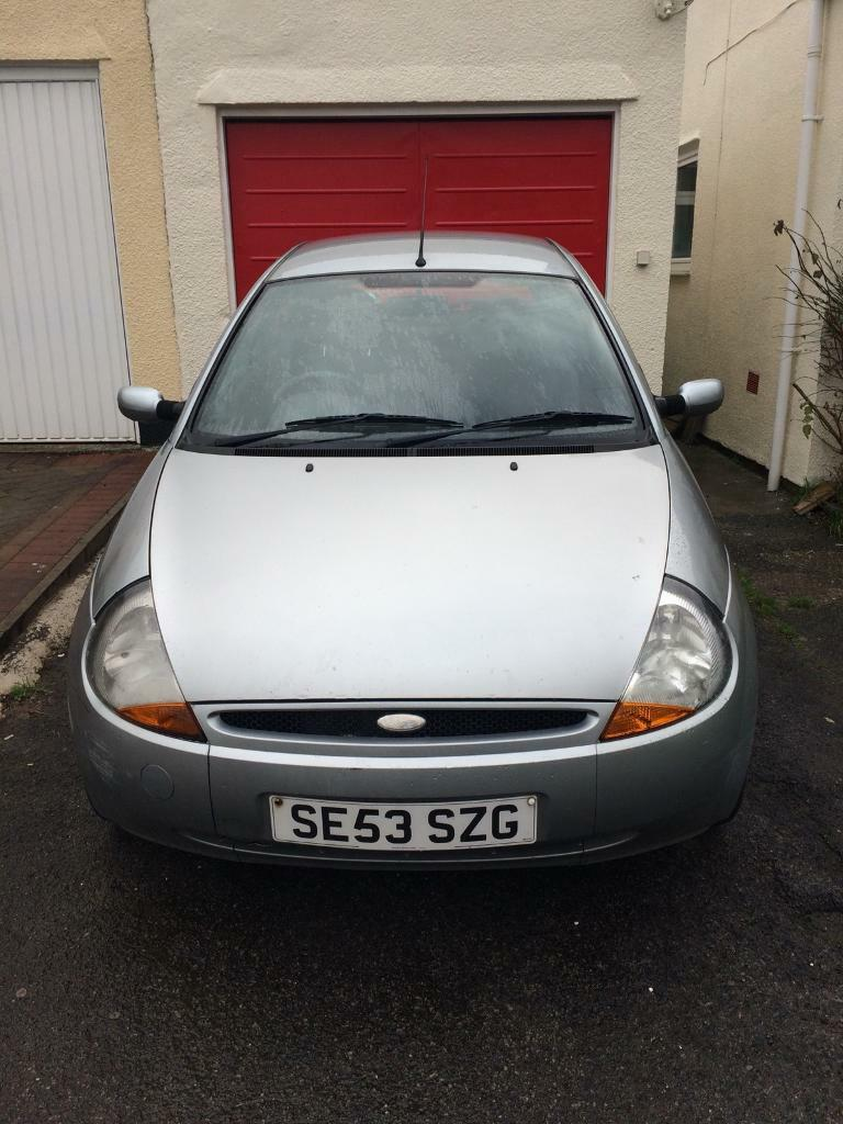 Plate Ford Ka Spares Or Repairs