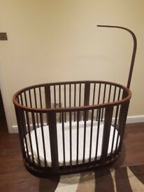 Stokke mini and toddler cot bed