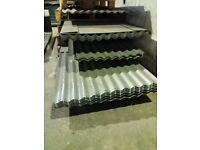"Galvanised Corrugated Sheets 8' x 32"""