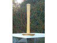Pine kitchen roll holder
