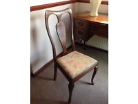 Vintage Dining Chair / Desk Chair/ dressing table chair