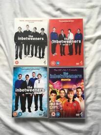 In betweeners 1-3 & Movie