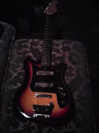 TEISCO KAY VINTAGE ELECTRIC GUITAR CIRCA 1970