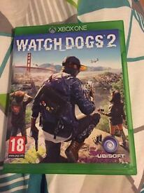 Watchdogs 2 XboxOne great condition