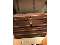 Very old cabin trunk